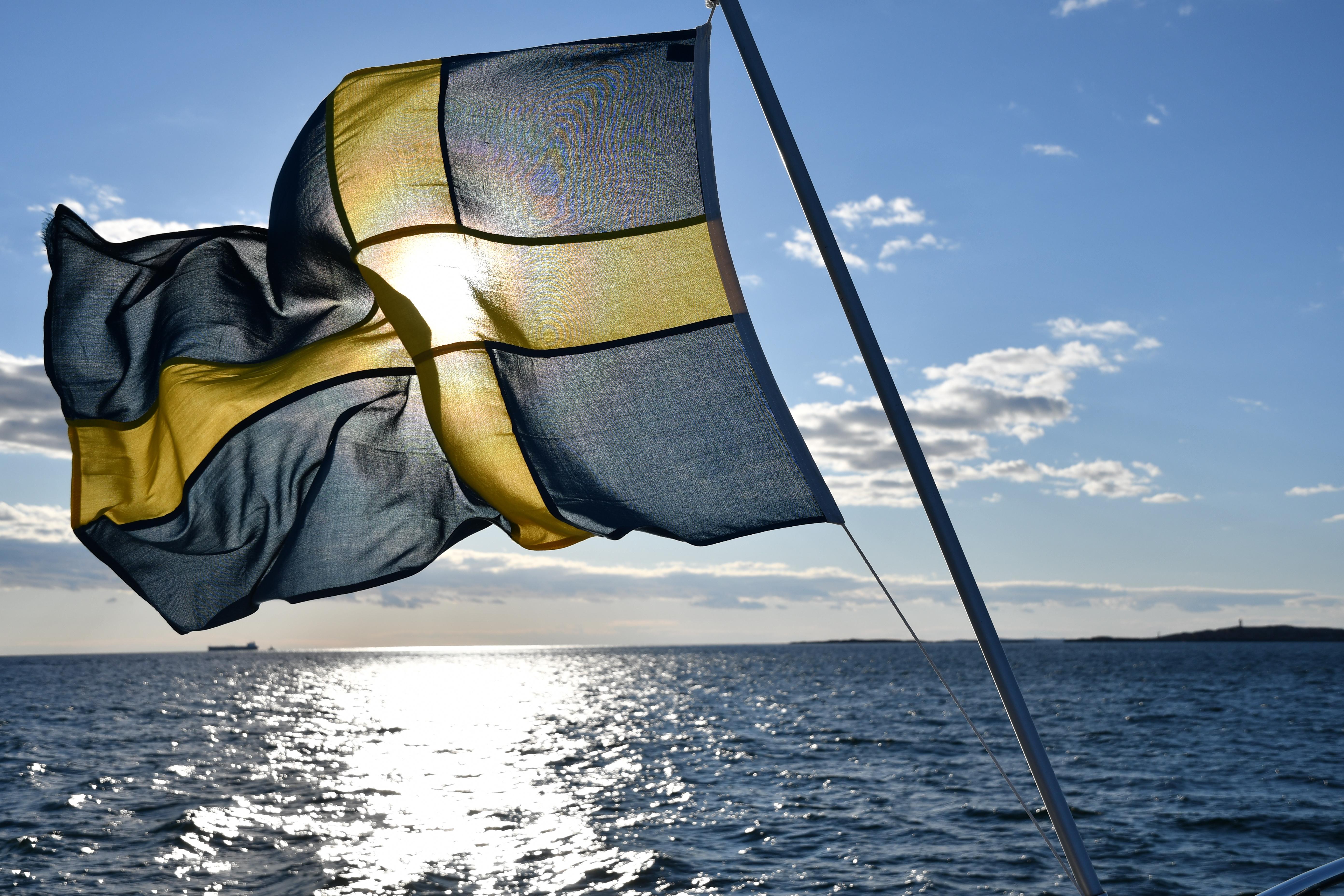 Svenska flaggan, skärgård, Swedish flag, archipelago